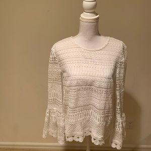 Aqua blouse